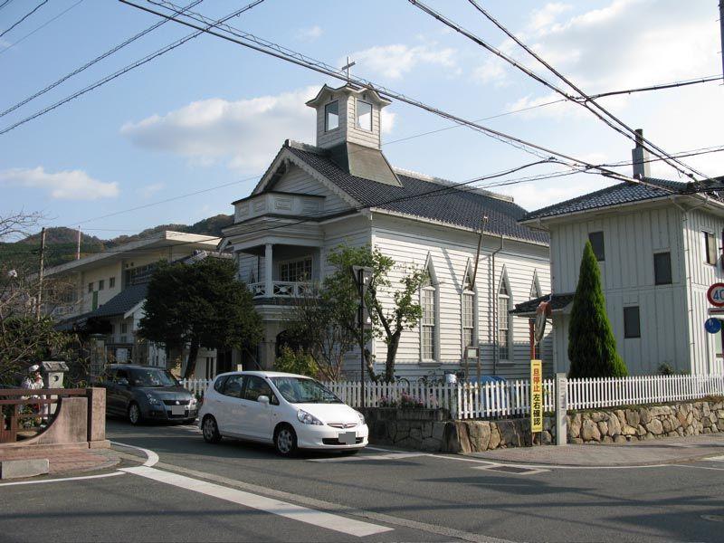 高梁キリスト教会堂は、紺屋川美観地区にあるレトロな建物です。 教会堂は... 高梁キリスト教会堂