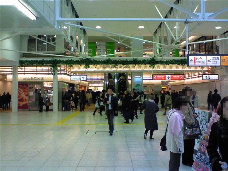 三鷹駅エキナカ「Dila三鷹」