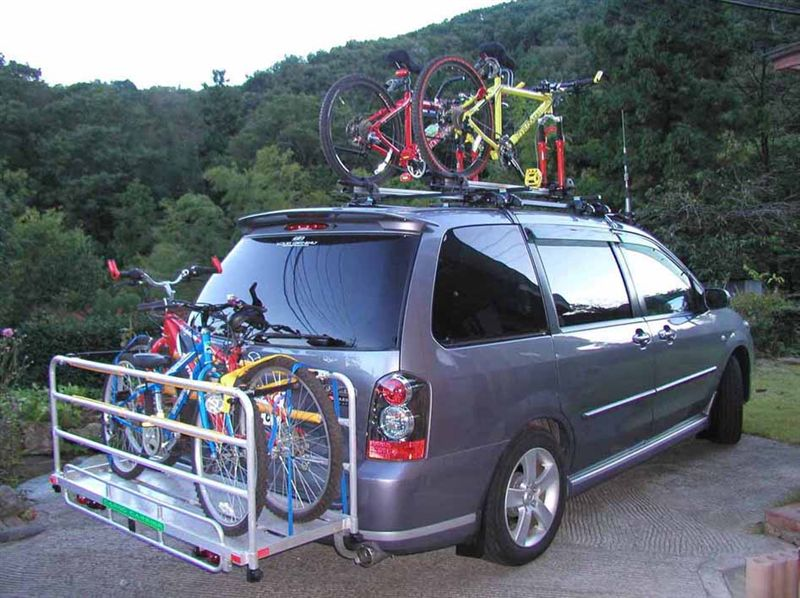 自転車の 自転車 キャリア 背面 自作 : 自作(手作り)生活