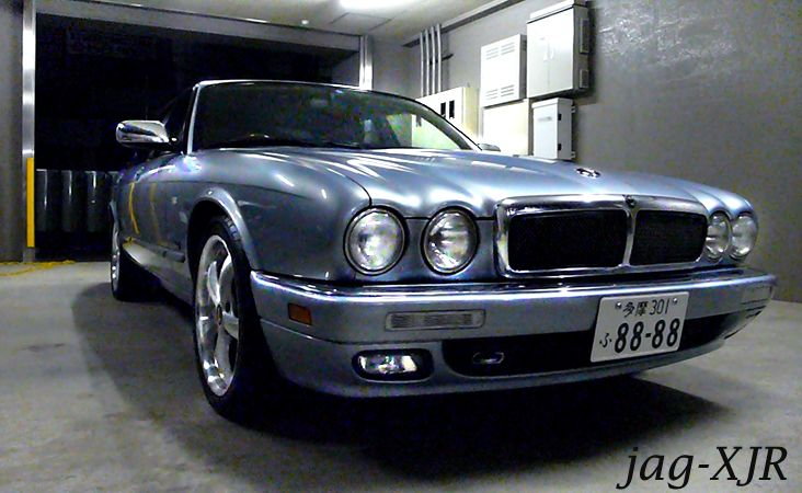 it's my Jaguar X300 XJR Life!