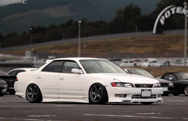 Camber And Offset: Car Modify Wonder Toyota Mark II JZX90