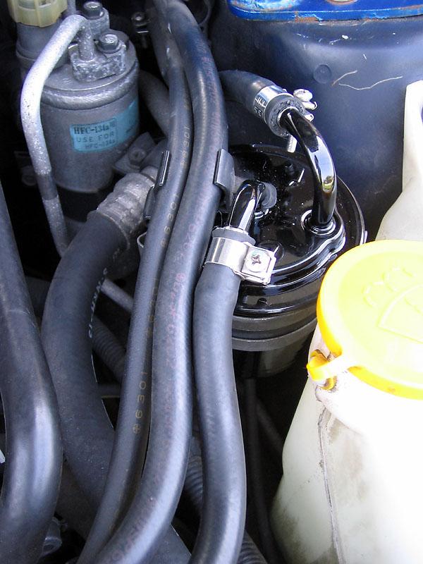 【DIY】燃料(フェール)フィルター交換。(GC8)