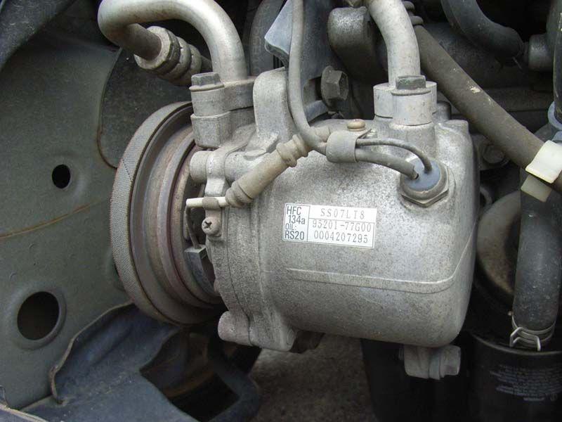ワゴンR MC21S ファンベルト交換