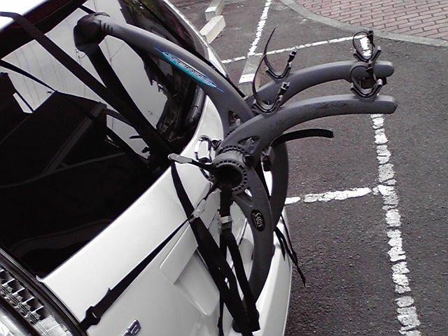 自転車の 自転車 キャリア 背面 : 背面サイクルキャリアの ...