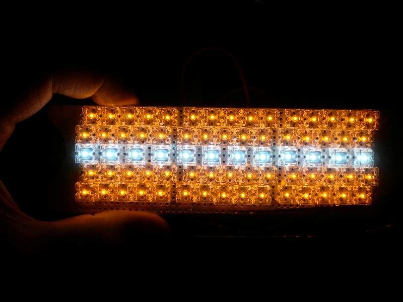 LEDウインカー内デイライト製作 その1