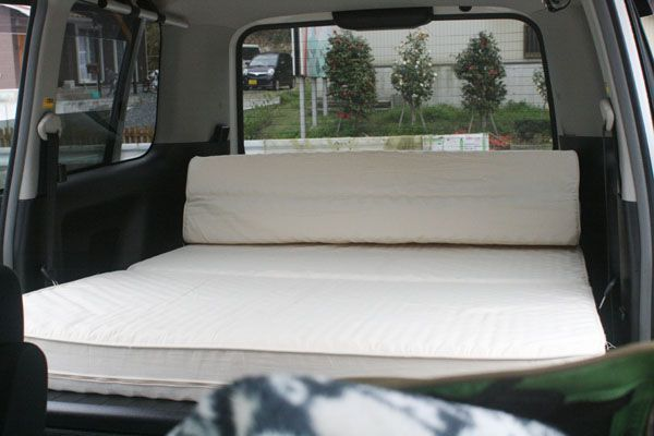 DIYで作る車中泊ベッド画像集 ...