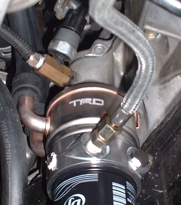 TRD セリカ(ZZT231)用 水冷式11段オイルクーラー流用