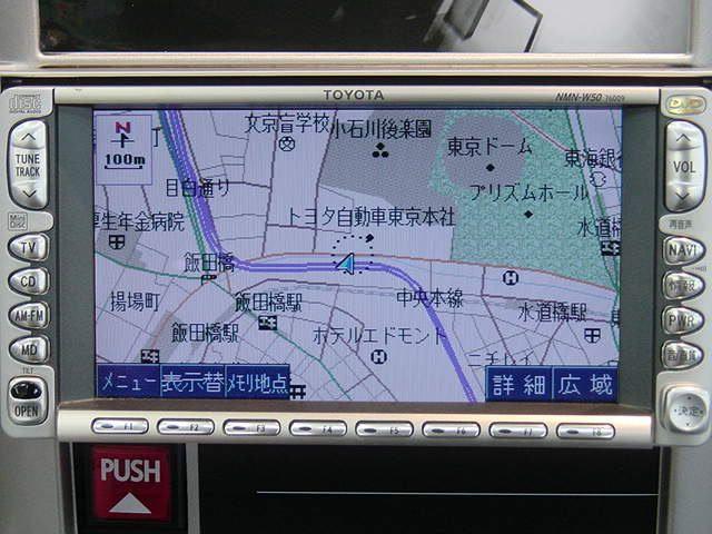 トヨタ純正 DVDナビ(NMN-W50)