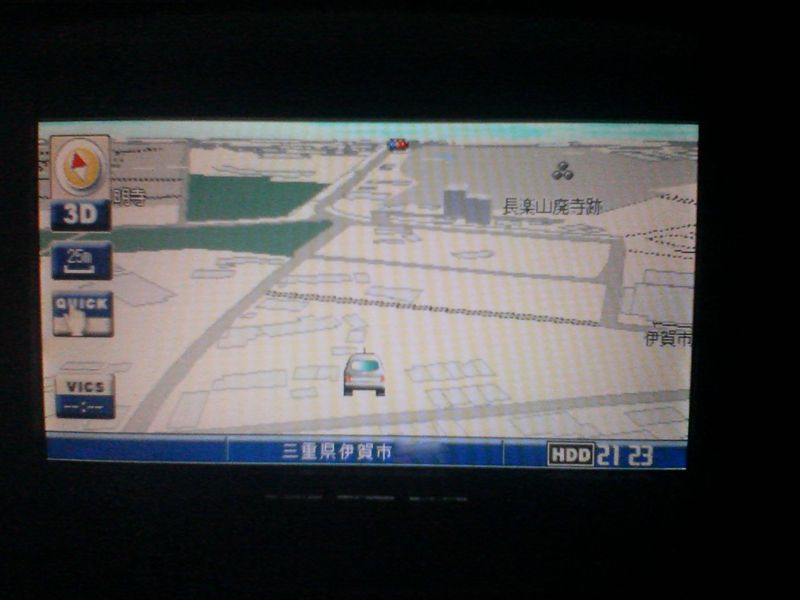日産純正HDDナビ (サンヨー製) NVA-HD7306AJ
