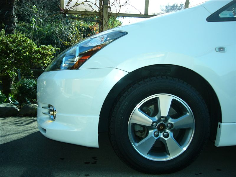 トヨタ純正 ウィッシュ X,Sパッケージ標準装備15インチアルミホイール