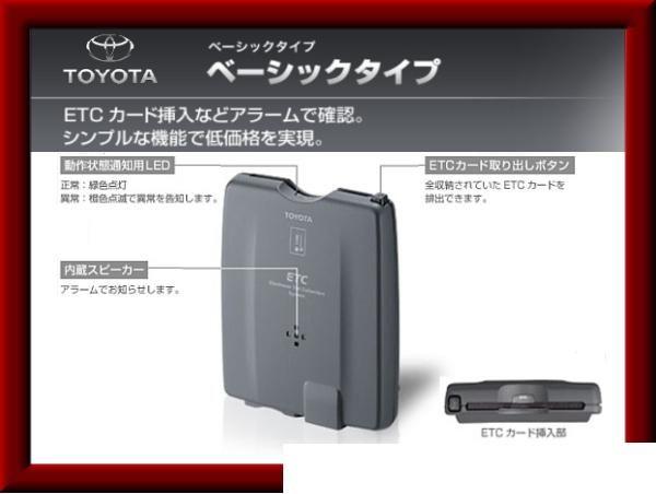 トヨタ ベーシックタイプETC|アクティ/ホンダ|パーツレビュー