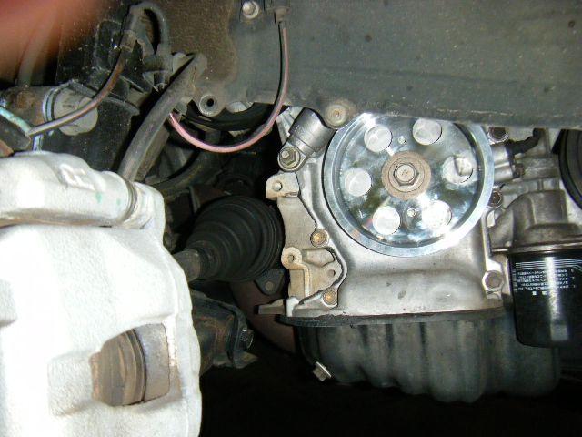 ヤフオクで購入 AZT241/246用超軽量アルミクランクプーリー