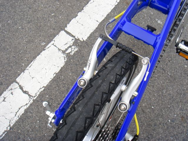 自転車の 自転車 ブレーキレバー 調整 方法 : ブレーキ TEKTRO RX5ミニVブレーキ ...