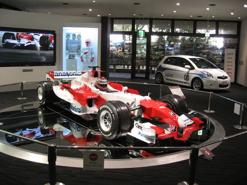 トヨタ会館 Vol.4 F1 ヴィッツ RS TRDレーシング レクサス