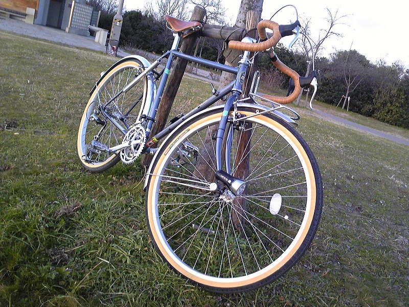 自転車の 丸石自転車 エンペラー : 2009年1月6日]矢倉緑地公園へ ...