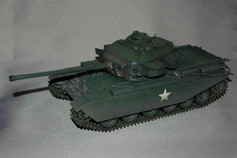 1/25スケール、英国陸軍センチュリオン中戦車、、