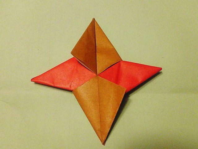 折り紙の:折り紙の手裏剣-divulgando.net