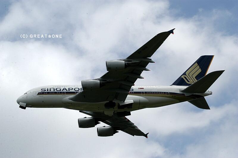 [大きい写真で見る]最新鋭の大型旅客機は、経済性追求するあまりエンジンは... 見せてもらおうか