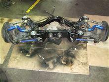 本日の作業⑱ 日産リアメンバーブッシュ打ち替え交換リジット化圧入 シルビア(S14S15)/GTRなど