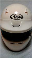 Arai アライヘルメットのアフターサービスに感動!インナー直せます。