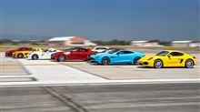 世界中のスーパーカーを12台集めて全車同時にゼロヨンしてみた動画2013