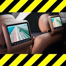 期間限定【10%オフ】後ろの席でTVを観させたい方へ緊急案内!取付け3分の高級車風リアエンターテイメントシステム