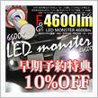 好評につき再入荷の早期予約10%OFF LED MONSTER L4600 H8/H11/H16