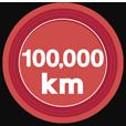 100000kmキロポスト