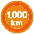 1000kmキロポスト