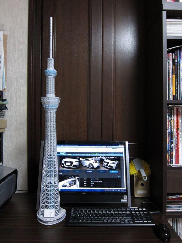 東京スカイツリーを組立てよう!!~|コマ@TTです!!宜しく!!|ブログ