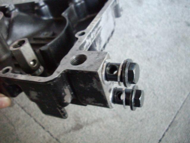 GPZ400R オイルパン加工