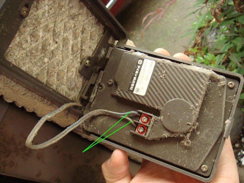 Panasonic VL-SW231KLテレビドアホン取り付け①
