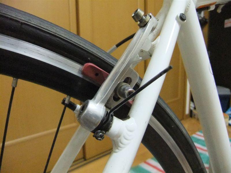 自転車 ブレーキ交換 ...