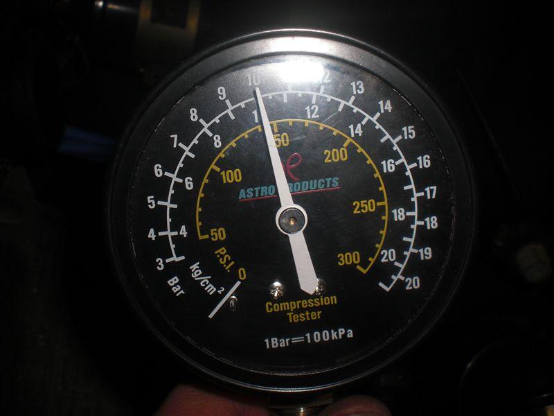 エンジンの圧縮をドーピングで回復してみる。