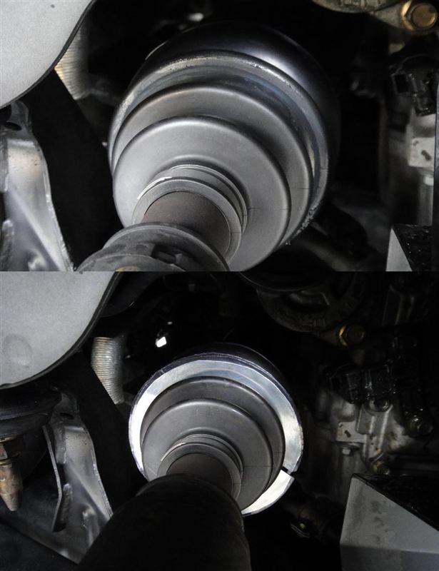 ドライブシャフトブーツの破れ対策(Ver.01)