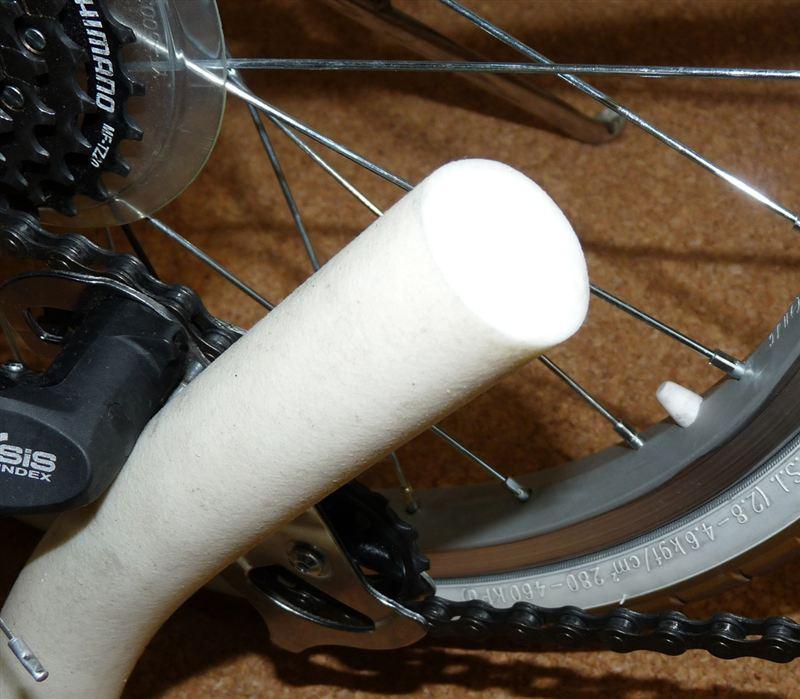 自転車の 自転車ノパンクタイヤ交換 : 自転車タイヤのノーパンク ...