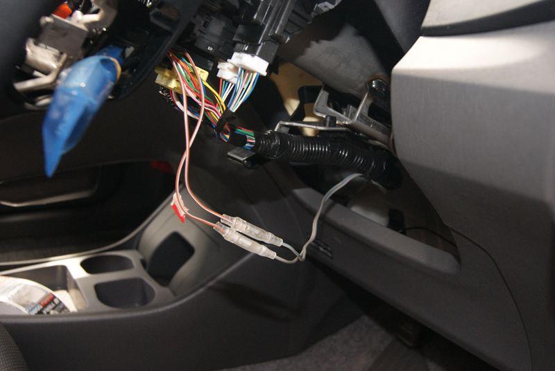(PWR・ECO・EV)モードスイッチをステアリングに増設 その1