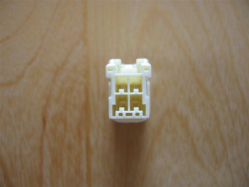 純正オプション電源カプラー製作(ACC・イルミ)