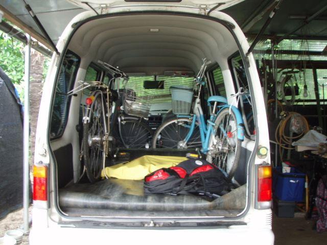 自転車積載|サンバー/スバル ...