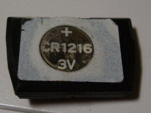 キーレスエントリー電池交換
