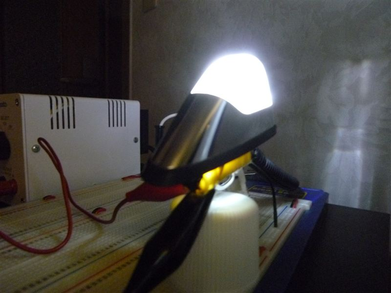 フェンダーマーカー 白色LED打ち変え