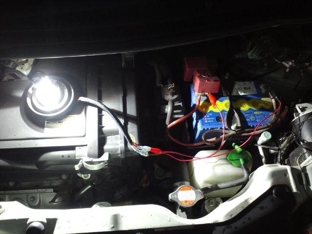 ワゴンR MH23 ヘッドライト HID化w