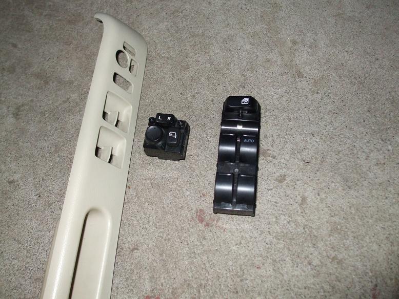 【MH21】パワーウィンドウスイッチ交換。