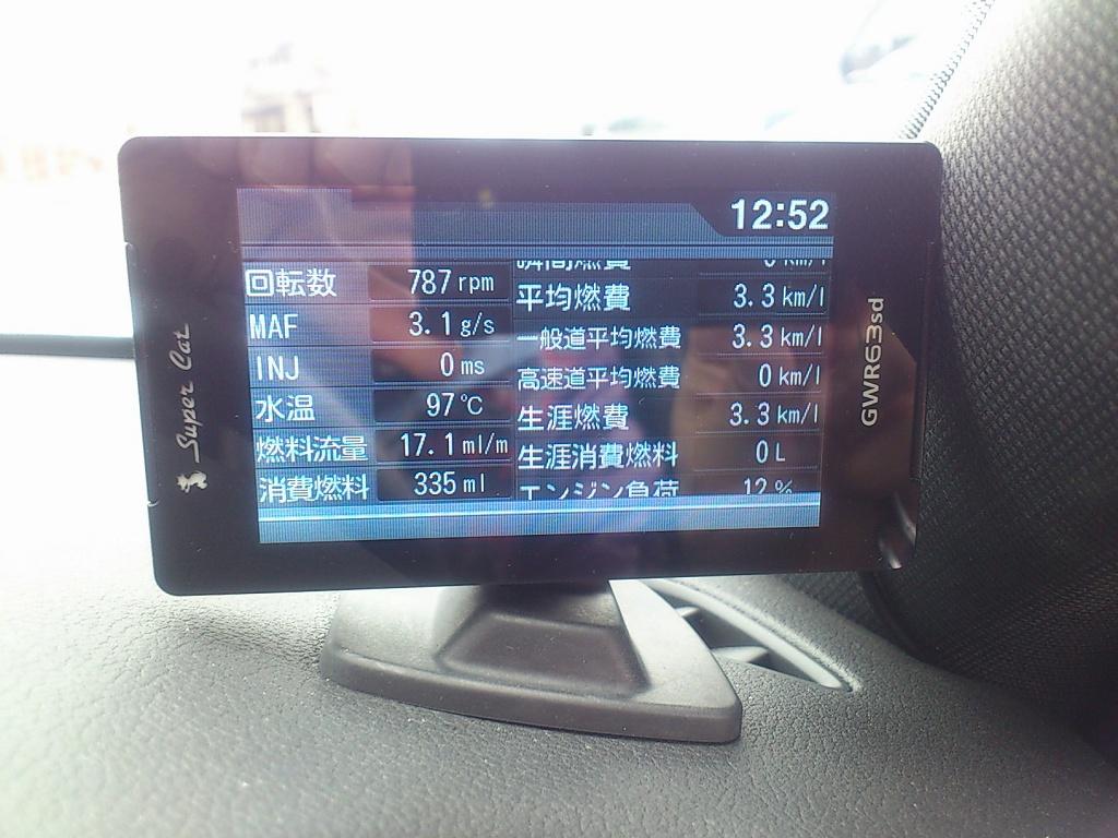 輸入車用OBD2アダプタ取り付け