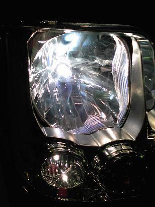 エブリィ DA64W ヘッドライトを H4 5100K に