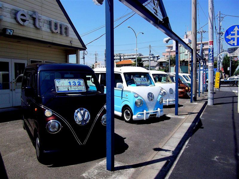 [ミニバス] ガレージ ヴァンテアン訪問 (ミニバスへの道 その9)
