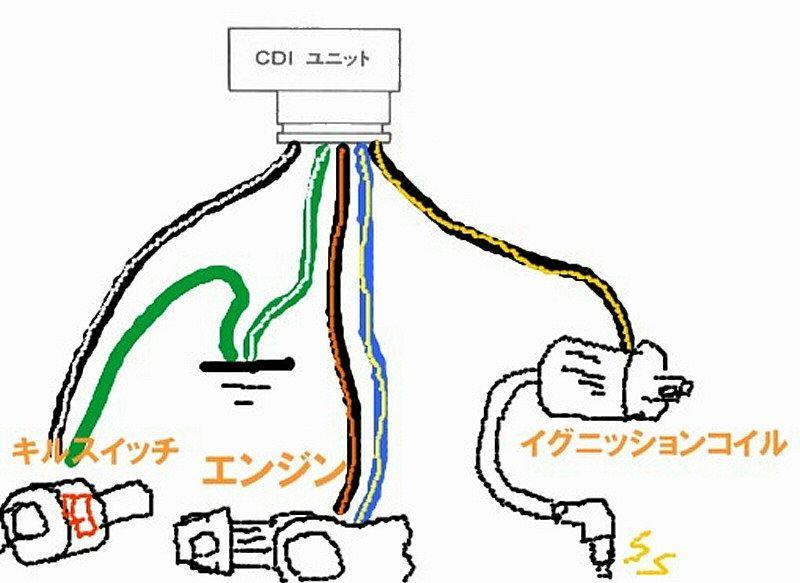 A Ac12(ns 1) : Cdiとか、ハーネス移植とか? (カブ モンキー系エンジン載せ替え)|ns 1 ホンダ