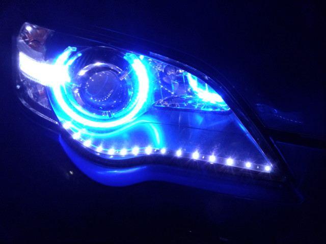 イカリング+LEDアイライン取付け