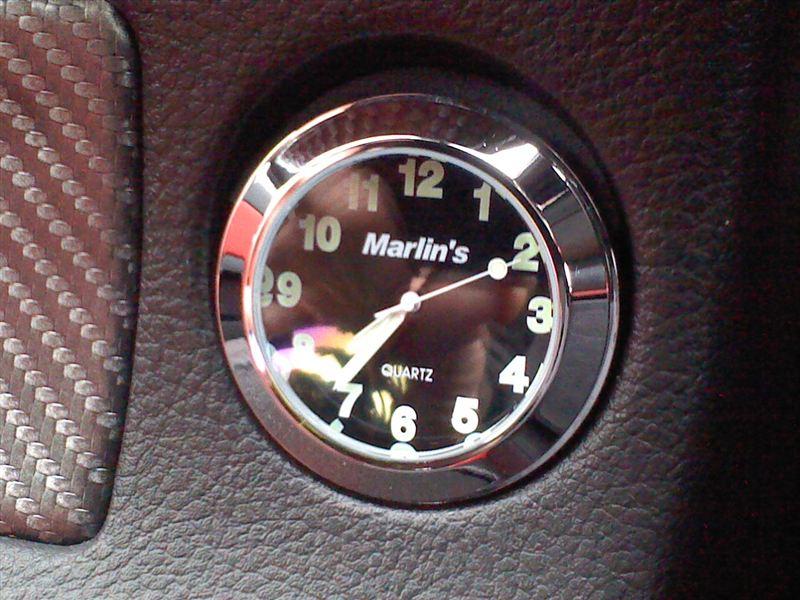 : シガーソケット 時計: 車&バイク
