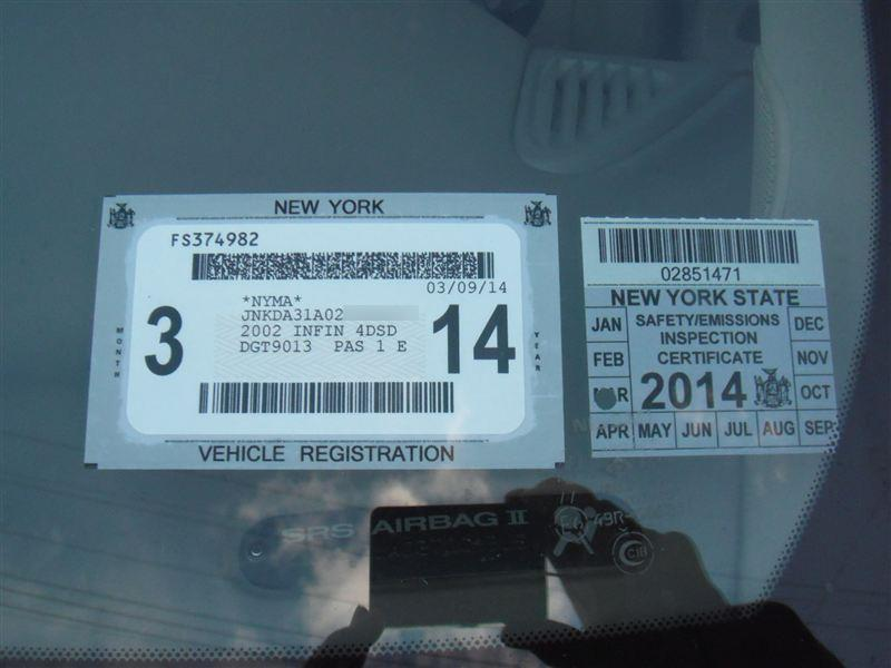 Inspection Sticker 2014